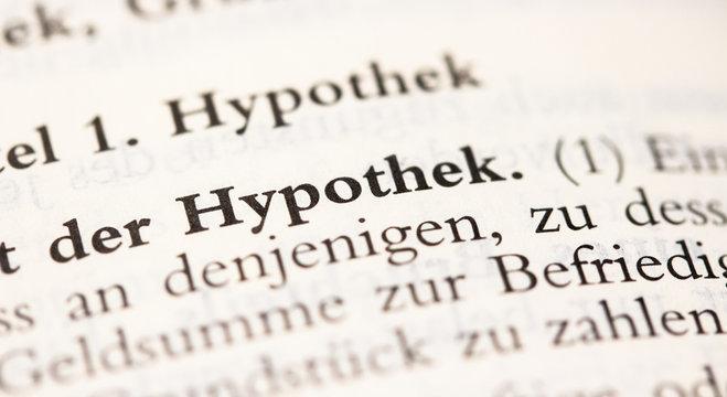 Hypothek Definition in § 1113 BGB