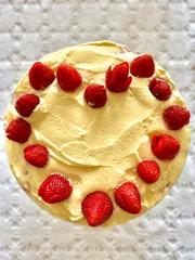 Love strawberries with Mascarpone cheese