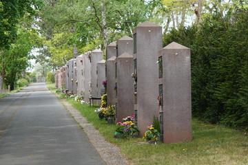 Urnenstelen in Bad Hersfeld