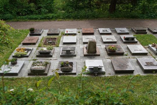 Urnengrabfeld Frauenfriedhof Bad  Hersfeld