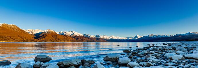 A Stunning Cool Morning On Lake Pukaki Fotomurales