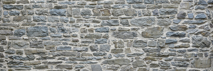 Old weathered stone wall