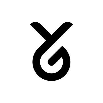 Lette YG logo design