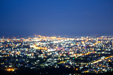 Fotobehang Los Angeles Beautiful cityscape night view wallpaper background