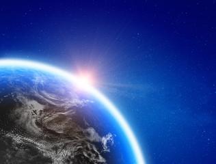 Wall Mural - Planet Earth world