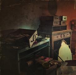 Fototapeta Abandoned Drawer In Room obraz