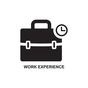 WORK EXPERIENCE ICON , JOB DEVELOPMENT ICON