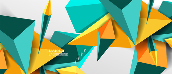 Keuken foto achterwand Hoogte schaal Trendy simple triangle abstract background, dynamic motion concept. Vector Illustration For Wallpaper, Banner, Background, Card, Book Illustration, landing page