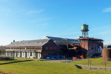 Jahrhunderthalle in Bochum Stahlhausen, Nordrhein-Westfalen