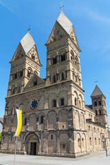 Kirche Maria Himmelfahrt in Andernach am Rhein, Deutschland