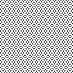 abstact Steel mesh metal fence seamless structure. Vector illustration.
