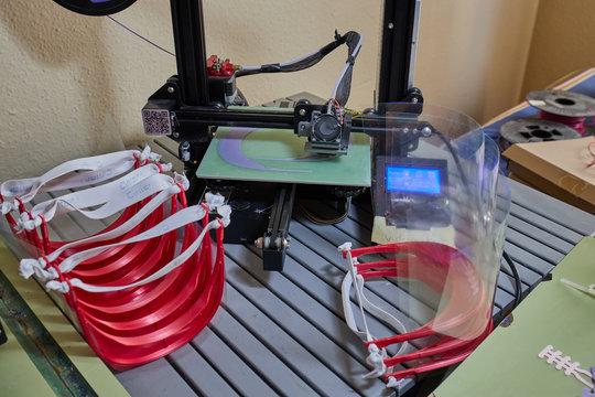 3d print masks for coronavirus safe in 3d printers