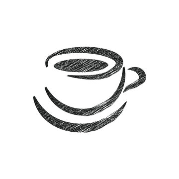 Coffee cup icon vector eps10