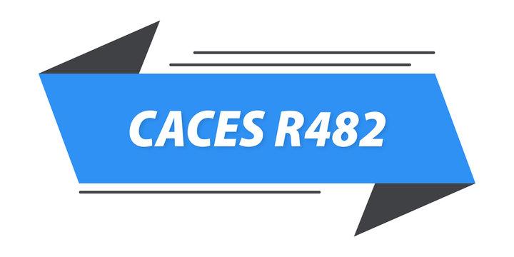 caces r482 bannière