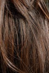 długie brązowe włosy