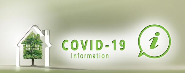 coronavirus, information, real estate project