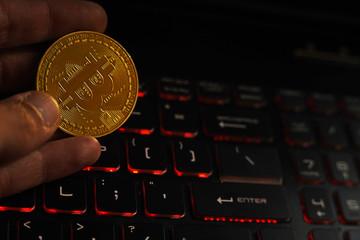 Bitcoin - fototapety na wymiar
