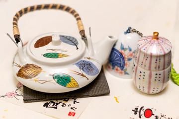 Japanese tea set cup