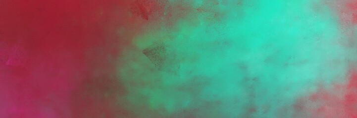 beautiful pastel brown and dark moderate pink colored vintage abstract painted background with space for text or image. can be used as horizontal header or banner orientation Wall mural