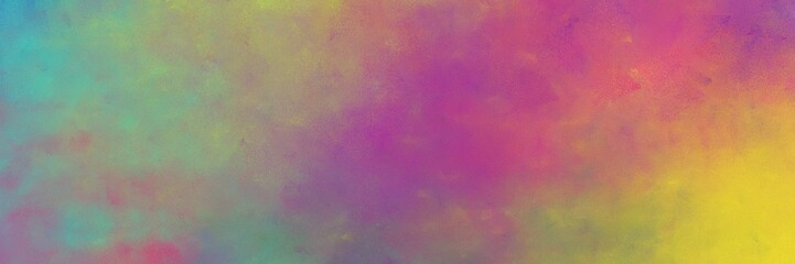 beautiful vintage abstract painted background with gray gray, sandy brown and mulberry  colors and space for text or image. can be used as horizontal background graphic Wall mural