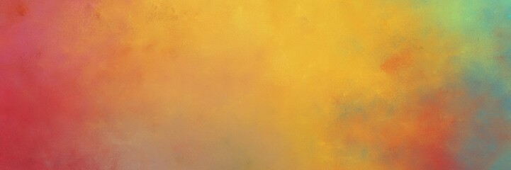 beautiful abstract painting background graphic with peru, moderate red and gray gray colors and space for text or image. can be used as horizontal header or banner orientation Fotomurales