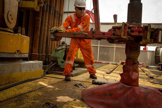 STAVANGER NORWAY OIL RIG WORKER