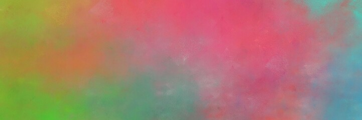 beautiful indian red, gray gray and blue chill colored vintage abstract painted background with space for text or image. can be used as horizontal background graphic Wall mural