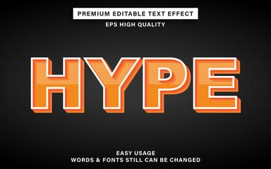 Wall Mural - hype text effect