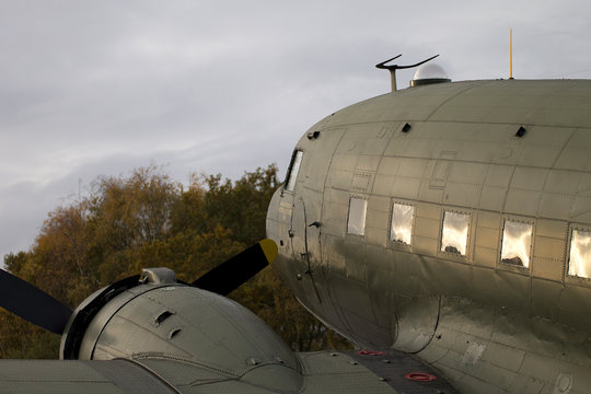 Dakota C47 WW2 plane
