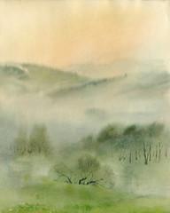 Obraz na płótnie Las