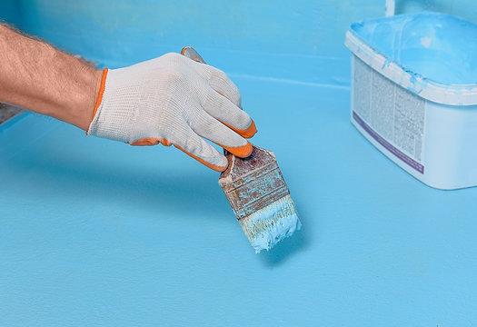 Painting waterproofing tint.