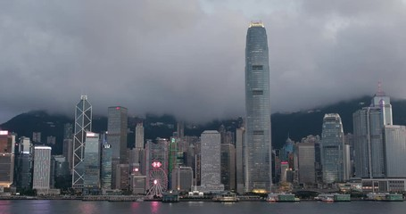 Fotomurales - Hong Kong city