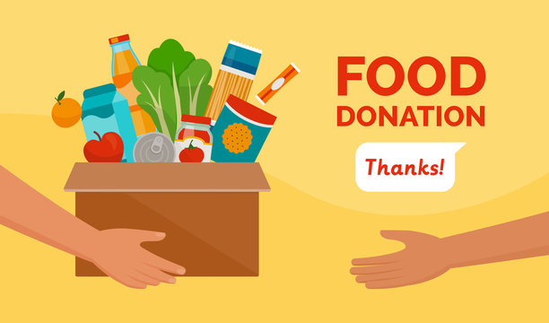 Food donation and charity