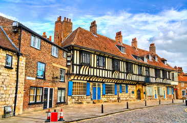 Traditional houses in York, England Fototapete
