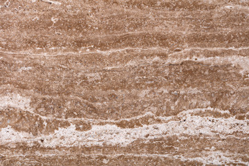 Wall Mural - Elegant brown travertine background as part of your unique design.