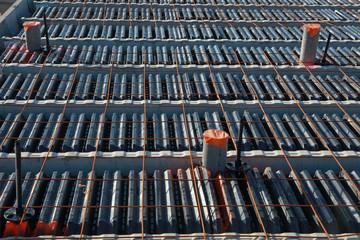Hourdis en plastiques pour la construction de fondation