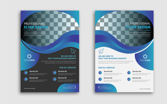 Professional Business Flyer Design Template