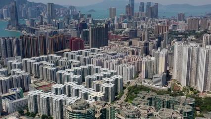 Fotomurales - Hong Kong from top