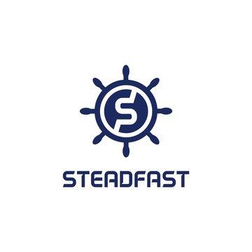 Steadfast Logo Symbol and finance