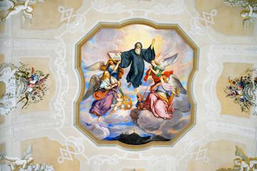Fresco im Stift Melk an der Donau