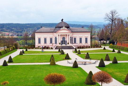 Gartenpavillon Stiftspark Melk an der Donau