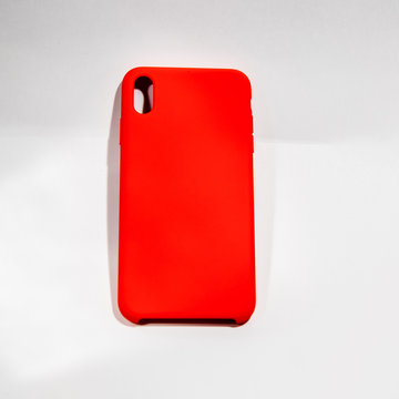 Red rural case for iphone Xs phone
