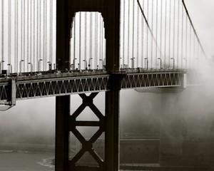 Cropped Image Of Golden Gate Bridge