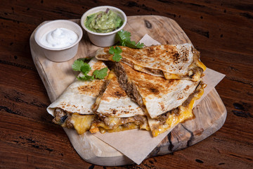Quesadilla Mexican Food.