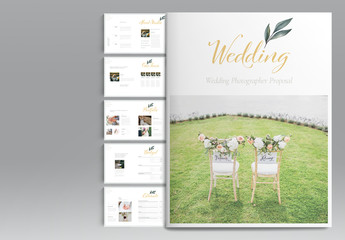 Wedding Proposal Layout