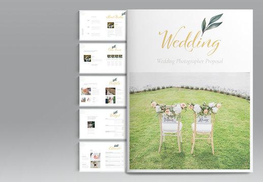 Wedding Proposal Layout