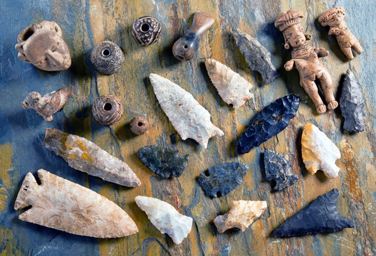 Real Arrowheads and Indian Artifacts.