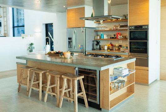 Modern home showcase kitchen