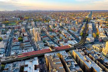 Elevated Subway - Brooklyn, New York