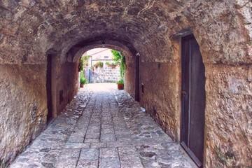 Fototapeta Archway Of Historic Building